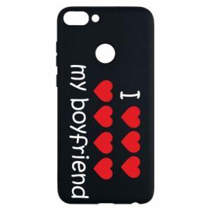 Etui na Huawei P Smart I love my boyfriend