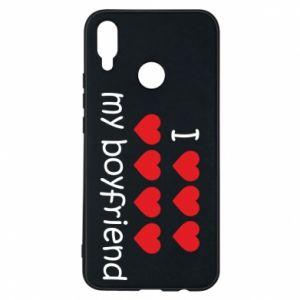 Etui na Huawei P Smart Plus I love my boyfriend