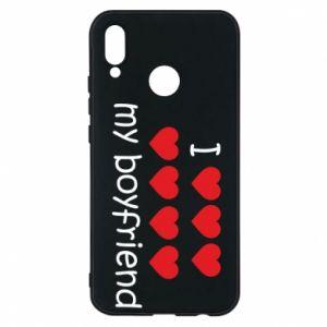Etui na Huawei P20 Lite I love my boyfriend