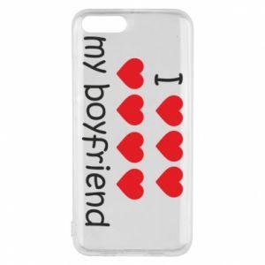 Etui na Xiaomi Mi6 I love my boyfriend