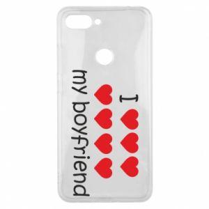 Etui na Xiaomi Mi8 Lite I love my boyfriend