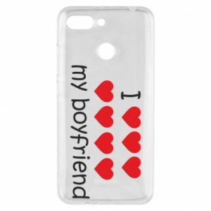 Etui na Xiaomi Redmi 6 I love my boyfriend