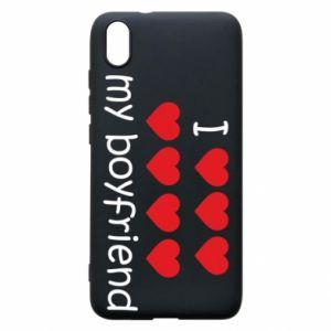 Etui na Xiaomi Redmi 7A I love my boyfriend