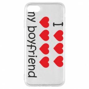 Etui na iPhone 7 I love my boyfriend