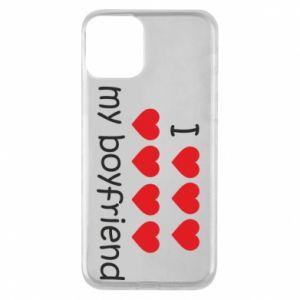 Etui na iPhone 11 I love my boyfriend