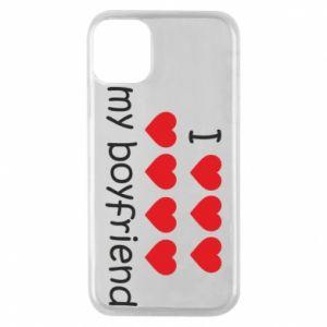 Etui na iPhone 11 Pro I love my boyfriend