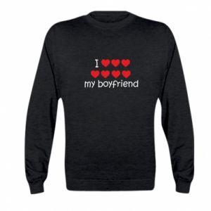Bluza dziecięca I love my boyfriend