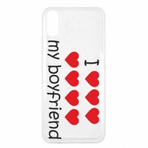 Etui na Xiaomi Redmi 9a I love my boyfriend