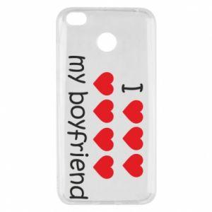 Etui na Xiaomi Redmi 4X I love my boyfriend