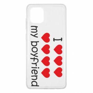 Etui na Samsung Note 10 Lite I love my boyfriend
