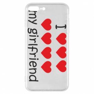 Etui na iPhone 8 Plus I love my girlfriend