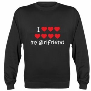 Bluza (raglan) I love my girlfriend