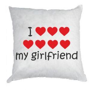 Poduszka I love my girlfriend