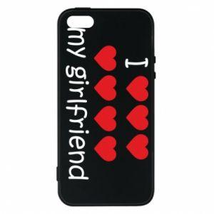Etui na iPhone 5/5S/SE I love my girlfriend