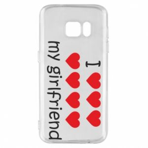 Etui na Samsung S7 I love my girlfriend