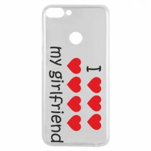 Etui na Huawei P Smart I love my girlfriend