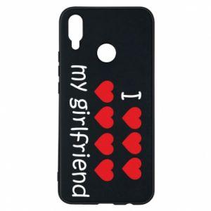 Etui na Huawei P Smart Plus I love my girlfriend