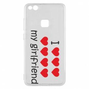 Etui na Huawei P10 Lite I love my girlfriend