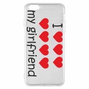Etui na iPhone 6 Plus/6S Plus I love my girlfriend
