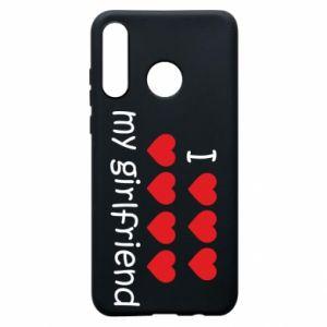 Etui na Huawei P30 Lite I love my girlfriend
