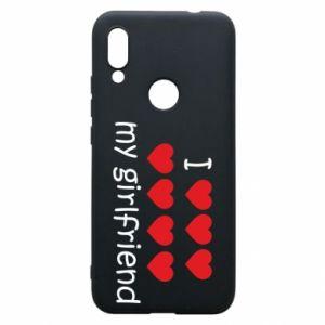 Etui na Xiaomi Redmi 7 I love my girlfriend