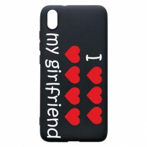 Etui na Xiaomi Redmi 7A I love my girlfriend