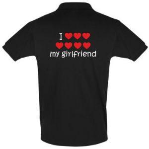 Koszulka Polo I love my girlfriend