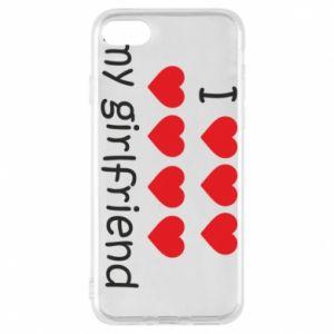 Etui na iPhone 7 I love my girlfriend