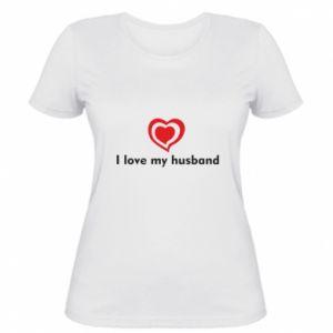 Damska koszulka I love my husband