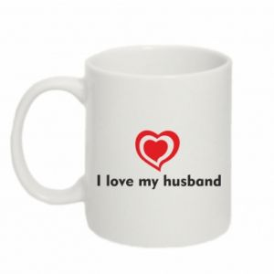 Kubek 330ml I love my husband