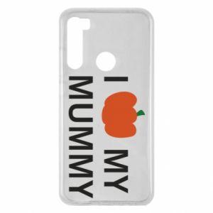 Etui na Xiaomi Redmi Note 8 I love my mummy
