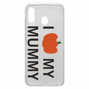 Phone case for Samsung A20 I love my mummy