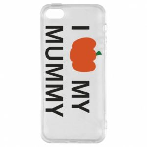 Phone case for iPhone 5/5S/SE I love my mummy