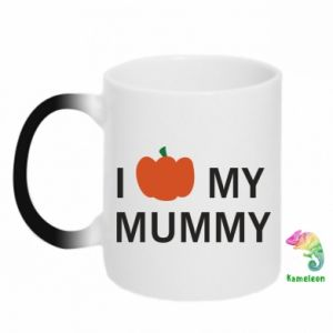 Kubek-kameleon I love my mummy