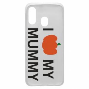 Phone case for Samsung A40 I love my mummy