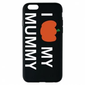 Phone case for iPhone 6/6S I love my mummy - PrintSalon