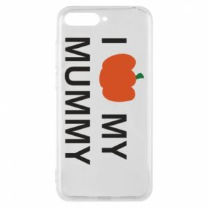 Phone case for Huawei Y6 2018 I love my mummy