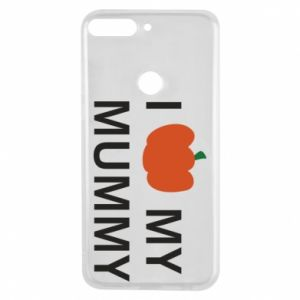 Phone case for Huawei Y7 Prime 2018 I love my mummy - PrintSalon