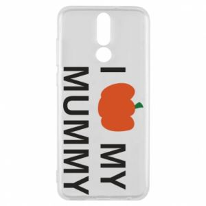 Phone case for Huawei Mate 10 Lite I love my mummy - PrintSalon