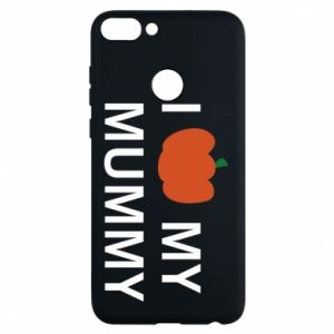 Phone case for Huawei P Smart I love my mummy