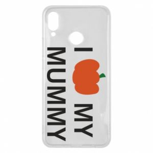 Phone case for Huawei P Smart Plus I love my mummy