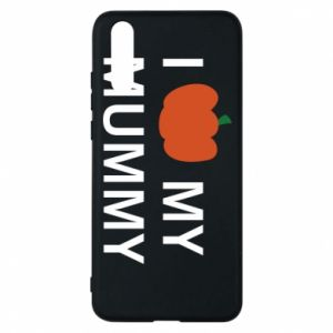 Phone case for Huawei P20 I love my mummy - PrintSalon