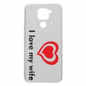 Etui na Xiaomi Redmi Note 9/Redmi 10X I love my wife