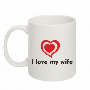 Kubek 330ml I love my wife