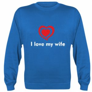 Bluza (raglan) I love my wife