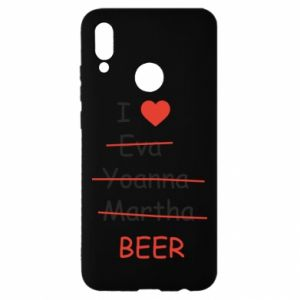 Huawei P Smart 2019 Case I love only beer