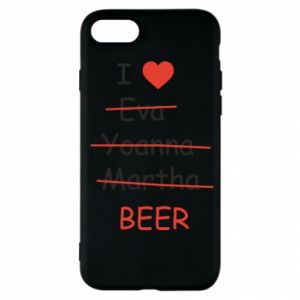 iPhone SE 2020 Case I love only beer