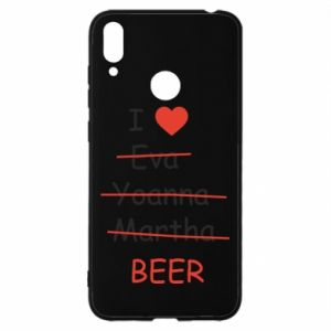 Huawei Y7 2019 Case I love only beer