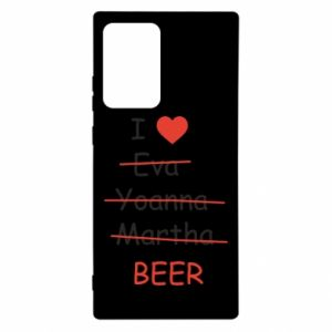 Samsung Note 20 Ultra Case I love only beer