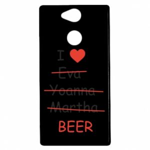 Sony Xperia XA2 Case I love only beer